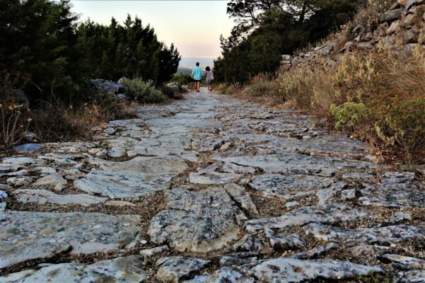 paros greek islands hiking
