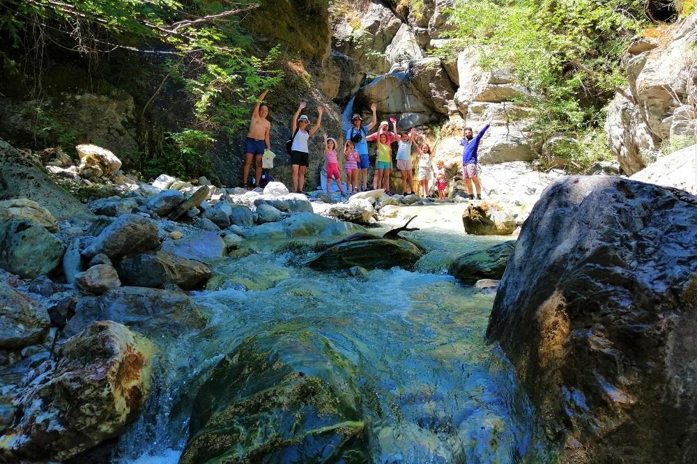 waterfall peloponnese