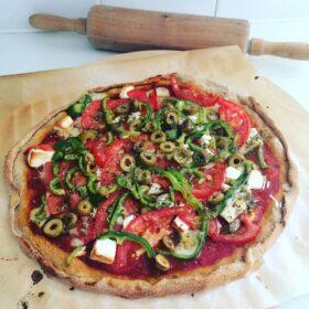 food cooking class vegan pizza