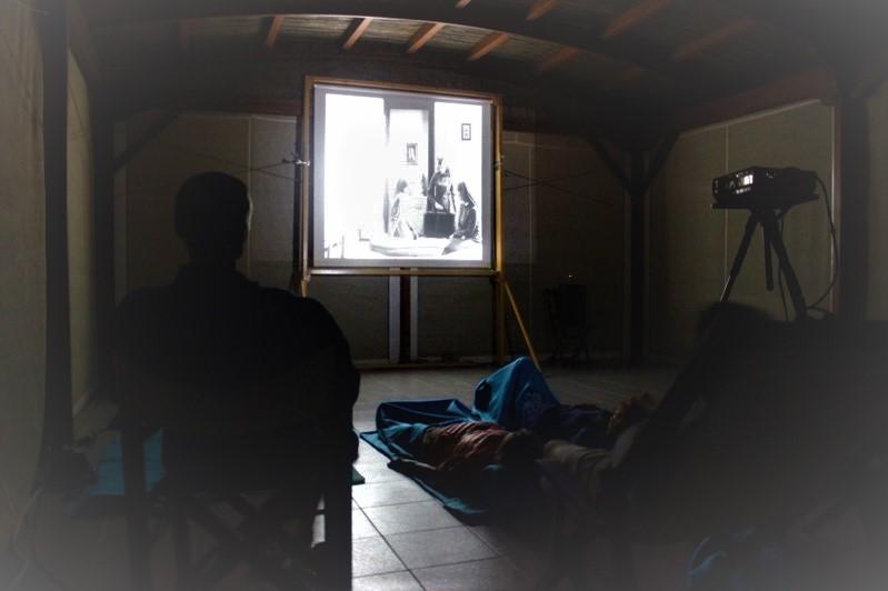 private cinema in villa