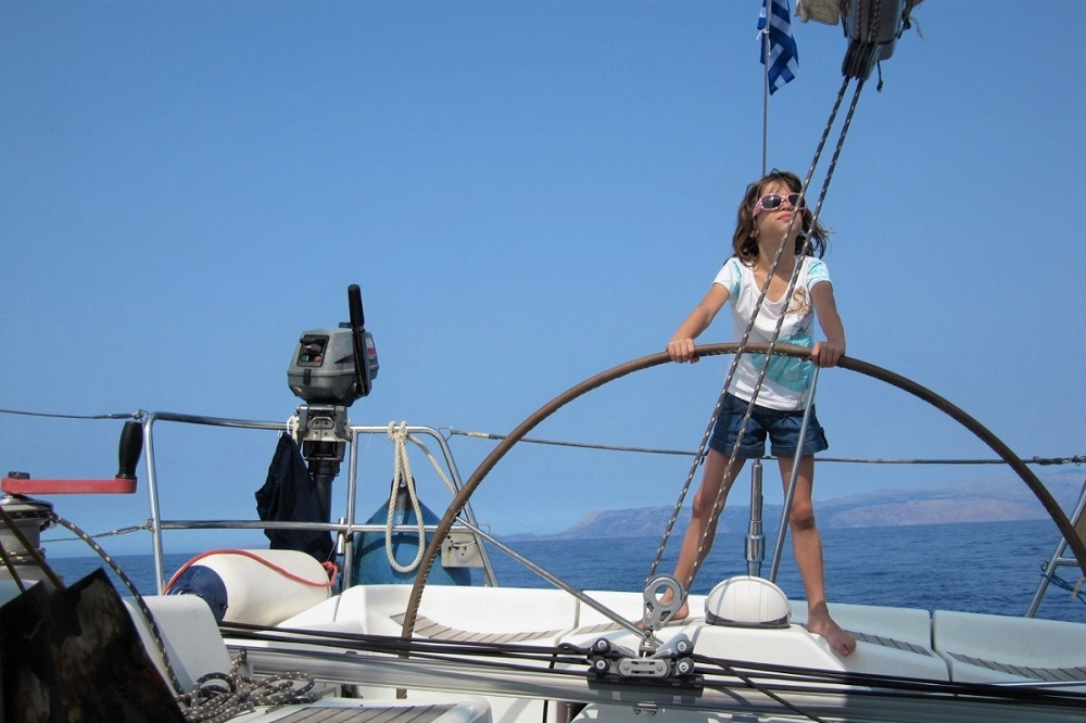 sailing ionian with kids