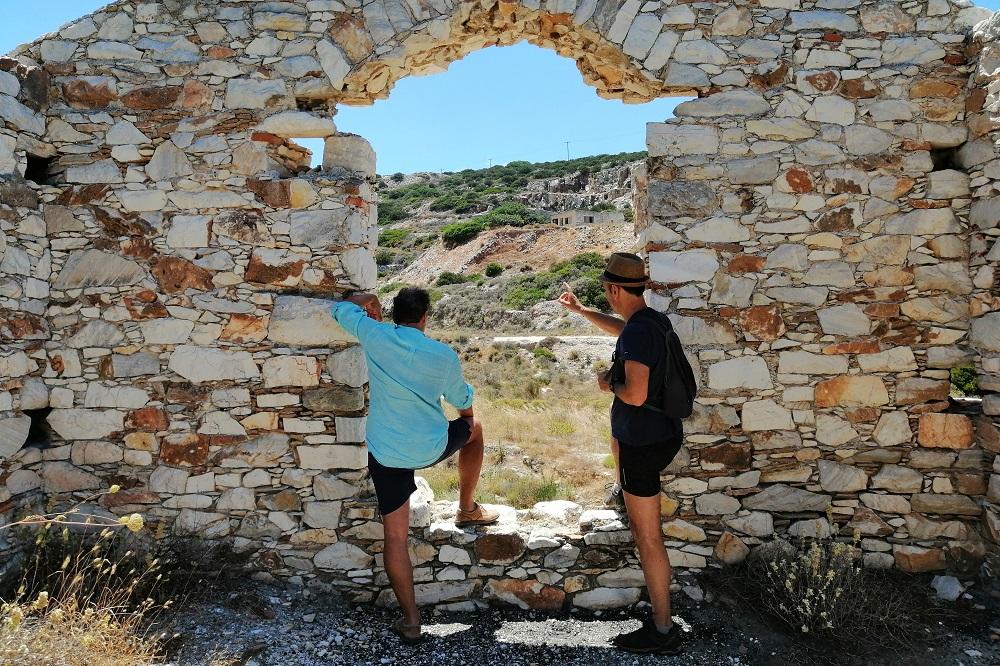 paros marble quarries