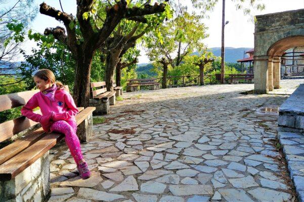 fall kids greek village