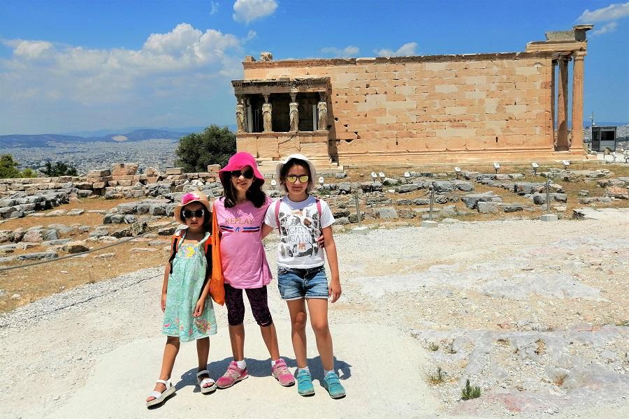 erechtheion acropolis kids
